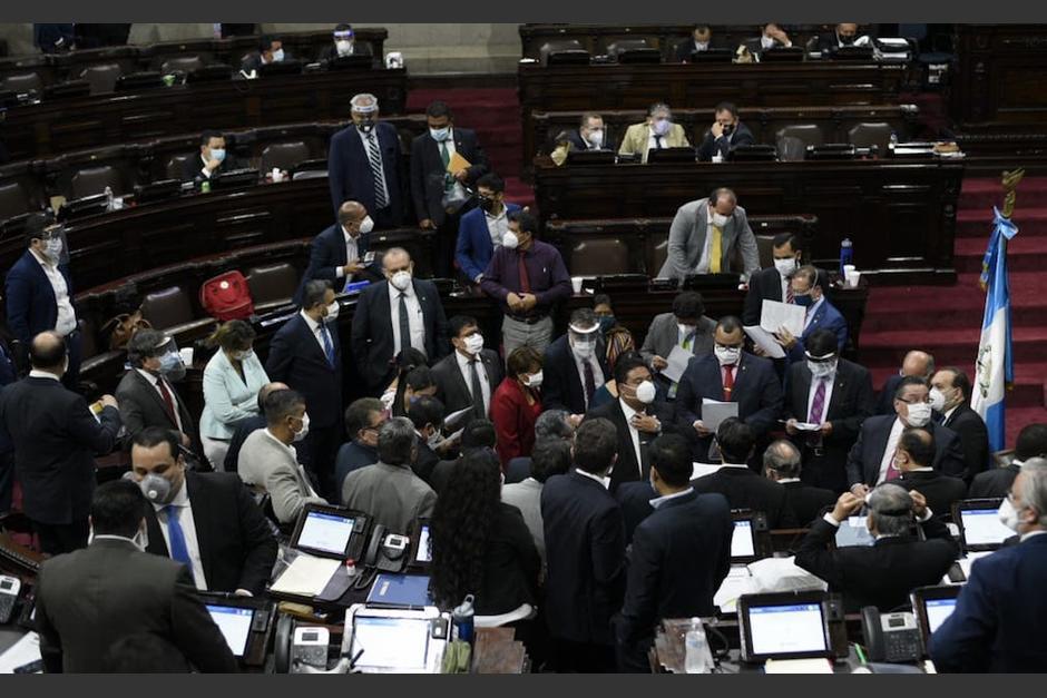 Algunos diputados que conforman los bloques mayoritarios, han bloqueado la elección de jueces y magistrados. (Foto: Archivo/Soy502)