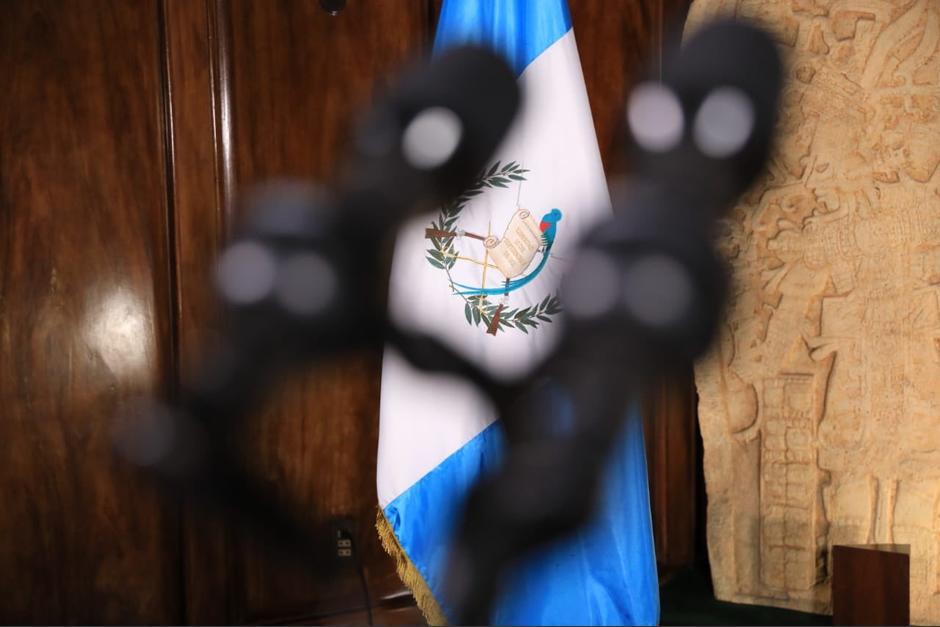 Giammattei informará en Cadena Nacional su estado de salud