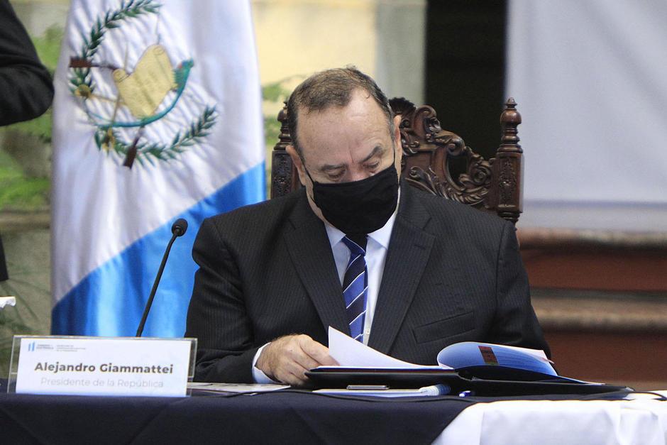 El presidente Alejandro Giammattei tenía programada su participación en la 75 Asamblea de la ONU. (Foto: Archivo/Soy502)