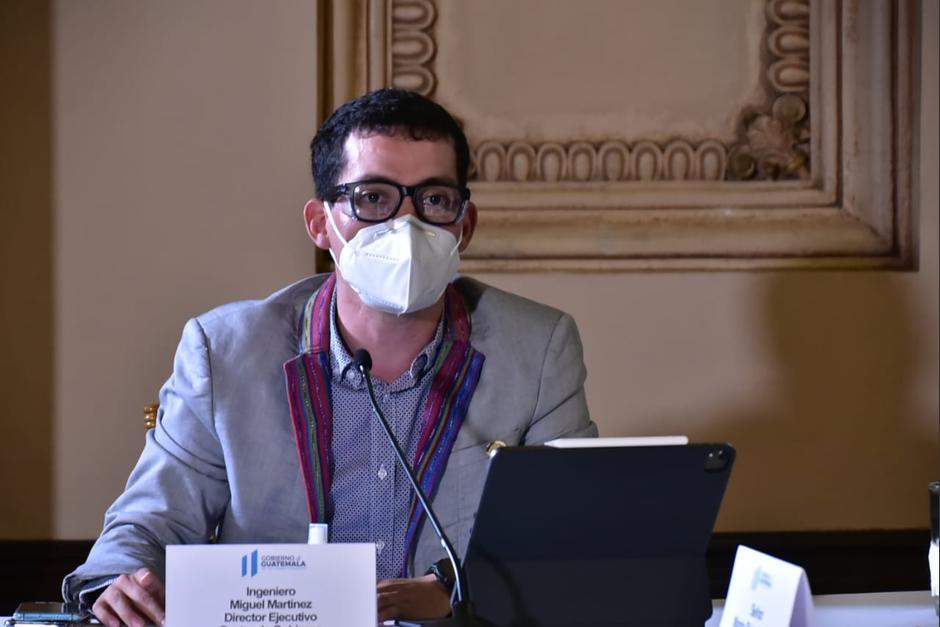 Martínez negó padecer de Covid-19. (Foto: Gobierno de Guatemala)