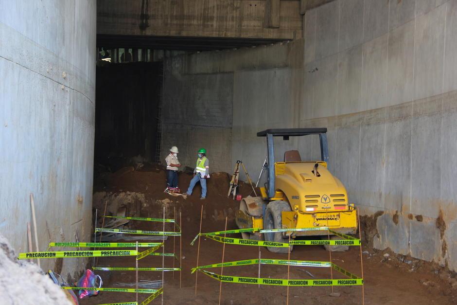 Esta obra es complementaria al paso a desnivel de la 35 calle y avenida Petapa. (Foto: Fredy Hernández/Soy502)