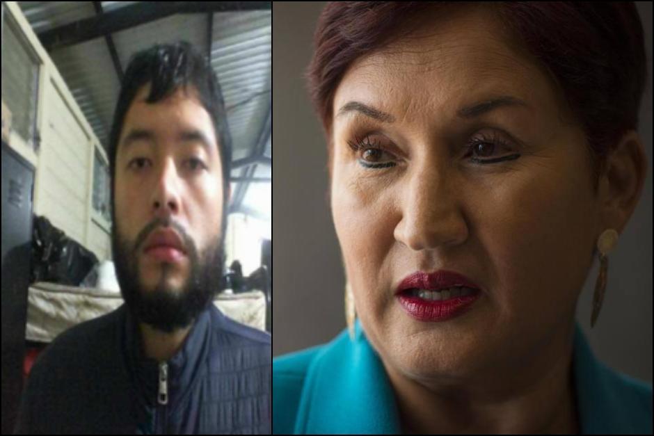 Thelma Aldana dijo en 2019 que tuvo información que el narcotraficante Jeankarlo Sánchez había escapado de prisión para atender en contra de su vida. (Fotos: archivo/Soy502)