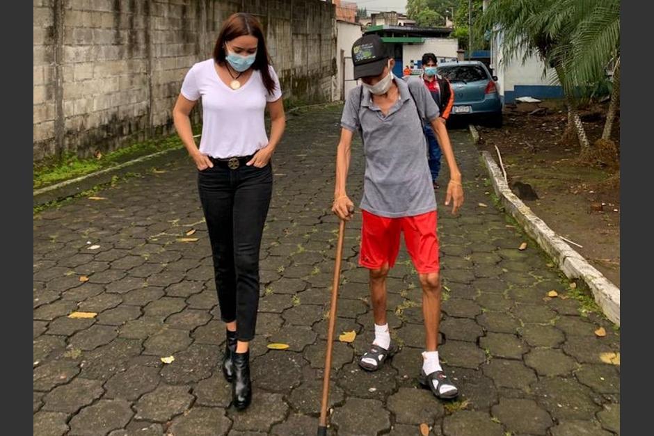 La diputada Evelyn Morataya compartió una breve historia de un joven que padece inseguridad alimentaria. (Foto: Twitter@EvelynMorataya)