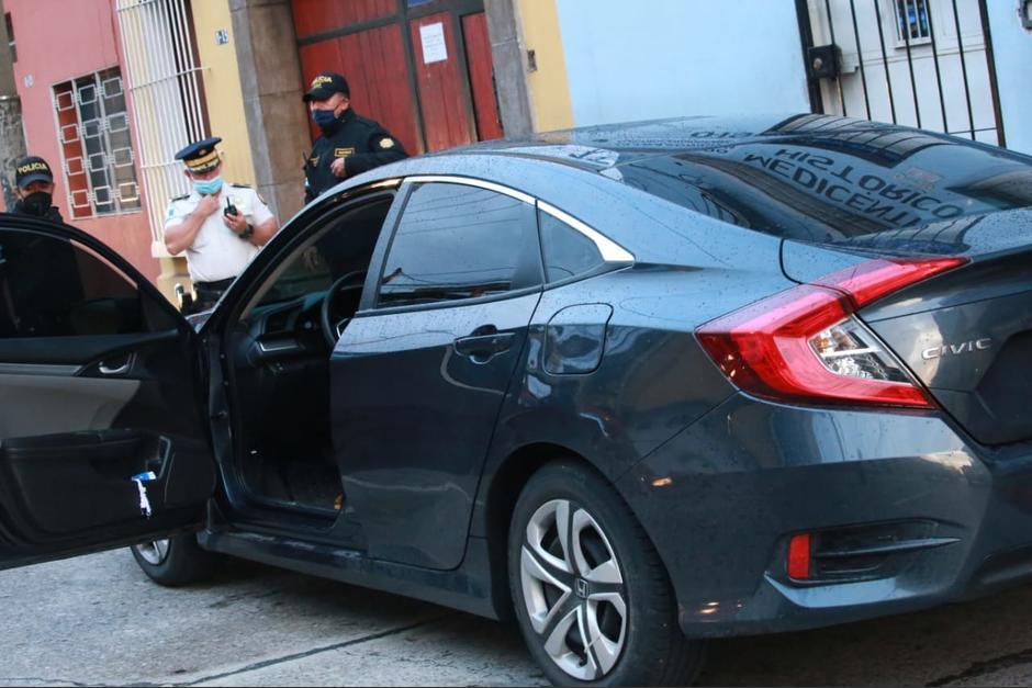 Un presunto robacarros hirió a su cómplice y a la víctima del asalto. (Foto: PNC)
