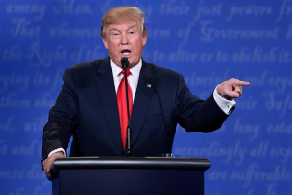 Trump exige que su oponente en la contienda por la Presidencia de Estados Unidos, se someta a una prueba antidopaje (Fotografía: AFP)