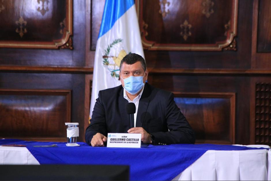 El vicepresidente confirmó que el mandatario está a punto de recibir el alta médica. (Foto: Vicepresidencia)