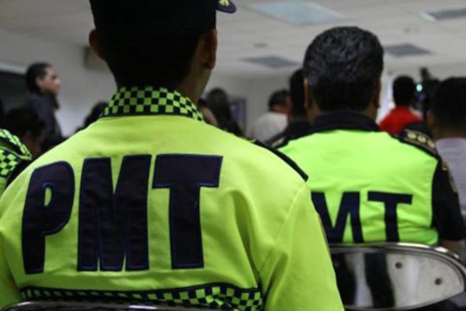 Captan en video y denuncian abuso policial de agentes de la PMT de Salcajá, Quetzaltenango. (Foto: Archivo/Soy502)