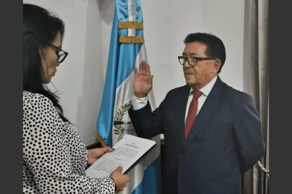 Guillermo Díaz fue destituido del cargo como Director General del IGM. (Foto: Presidencia)