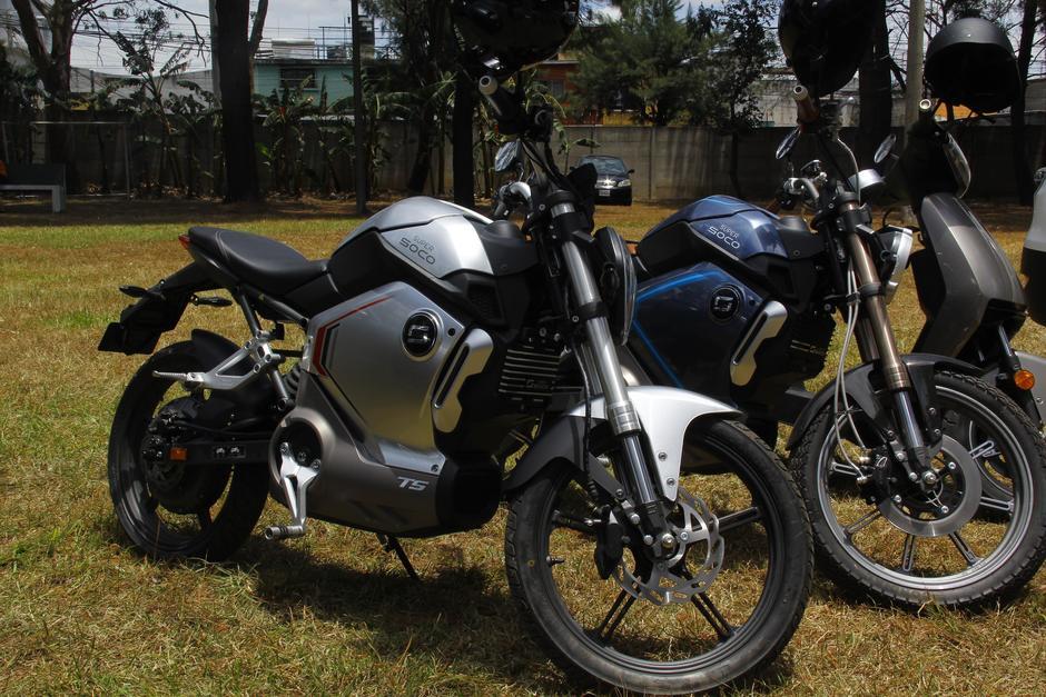 Estas motocicletas ingresarán al mercado guatemalteco y tendrán un costo de entre Q16 mil y Q25 mil. (Foto: Alexis Batres/Soy502)