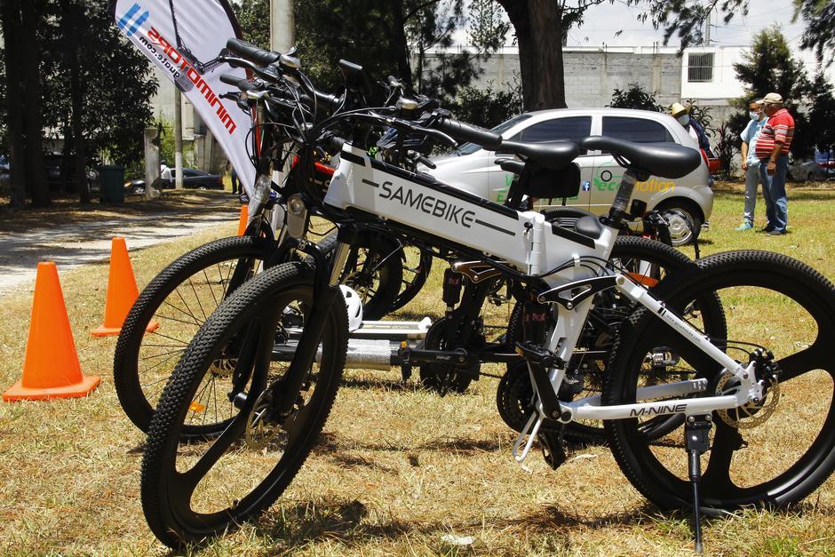 Además, hay bicicletas asistidas electrónicamente, que tienen precios de entre Q8 mil y Q12 mil. (Foto: Alexis Batres/Soy502)