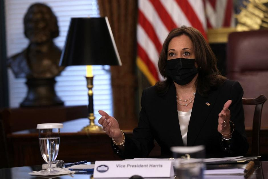 La vicepresidenta de EE.UU., Kamala Harris, anunció que pronto visitará el Triángulo Norte, incluida Guatemala. (Foto: AFP)