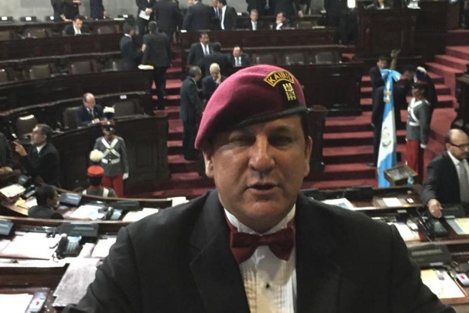 El exdiputado Estuardo Galdámez se encuentra en prisión preventiva. (Foto: archivo/Soy502)