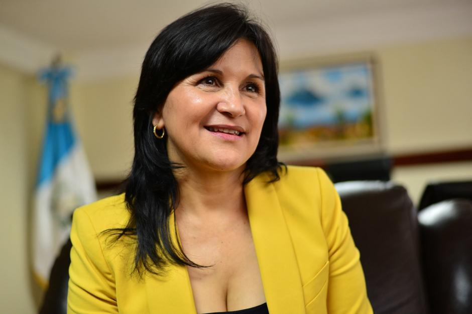 Gloria Porras se encuentra en Estados Unidos. Viajó a ese país poco después de que no tomara posesión como magistrada de la CC. (Foto: Archivo/Soy502)