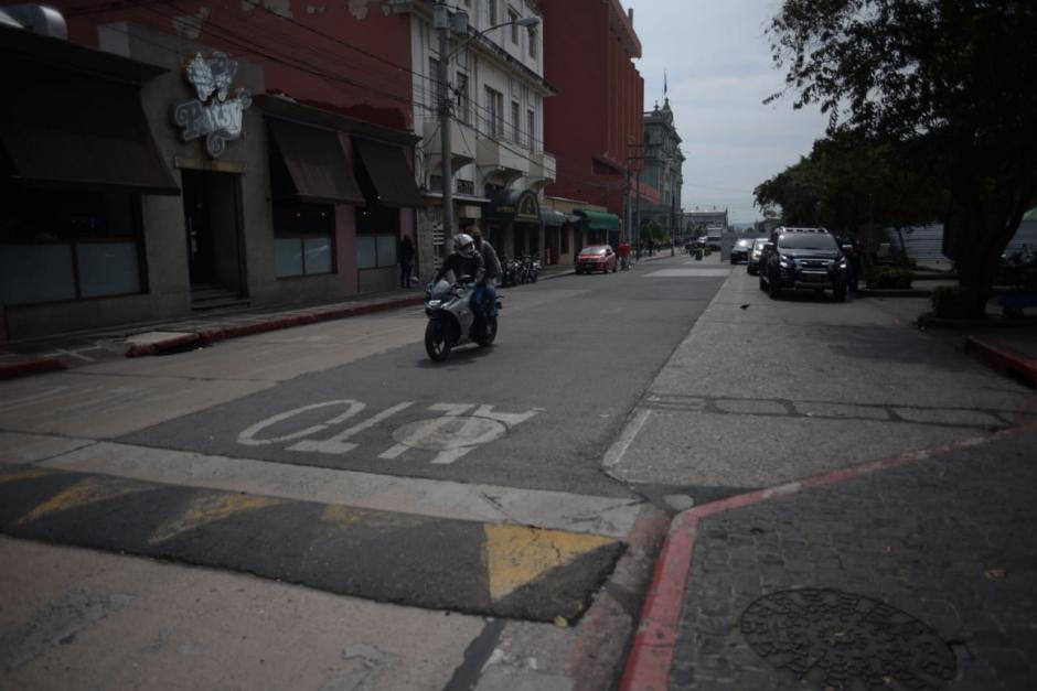 Los robos ocurren desde la 6a calle hasta la 9na calle, entre 4ta y 5ta avenida de la zona 1. (Foto: Wilder López/Soy502)