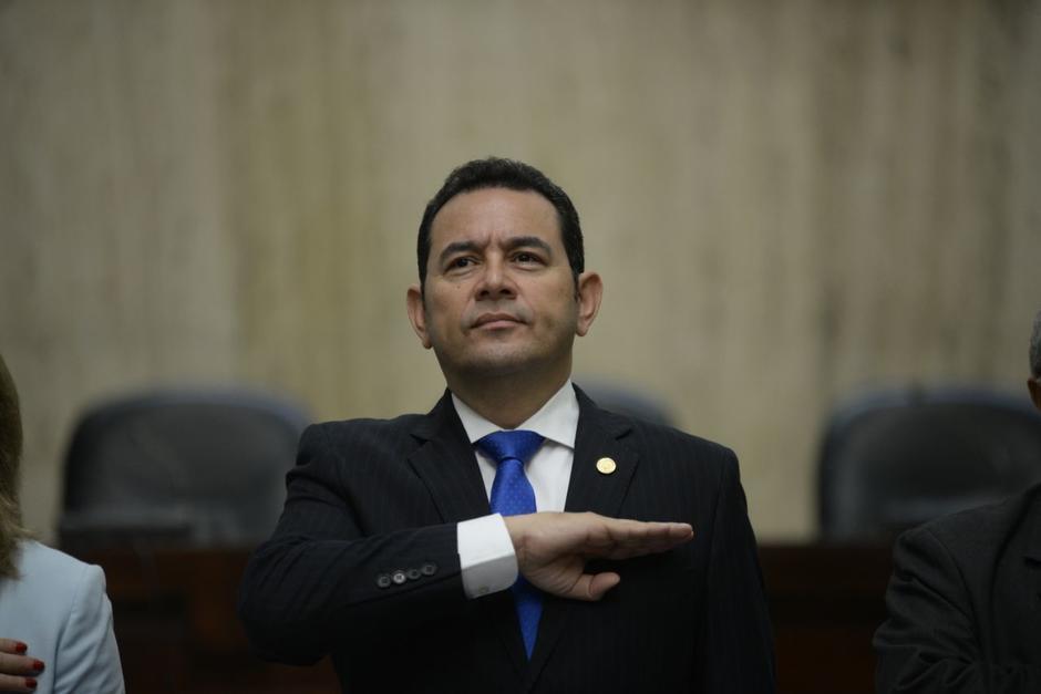 El expresidente Jimmy Morales enfrenta otro proceso de antejuicio. (Foto: Archivo/Soy502)