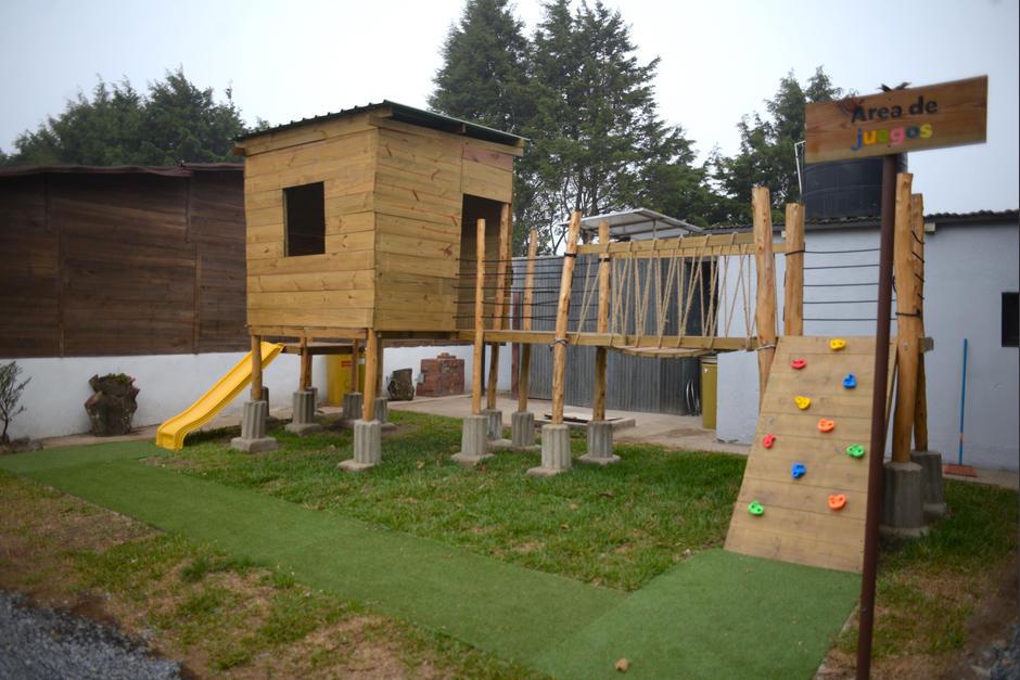 Habrá un área de juegos infantiles. (Foto: Wilder López/Soy502)