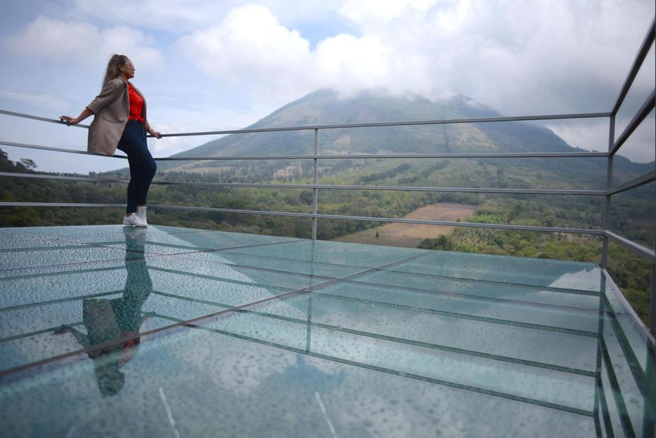 La plataforma soporta más de mil libras de peso. (Foto: Wilder López/Soy502)