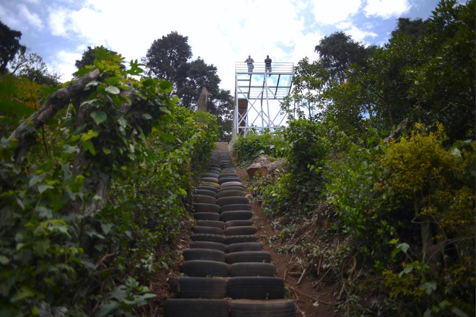También puedes caminar por los senderos del parque ecológico. (Foto: Wilder López/Soy502)