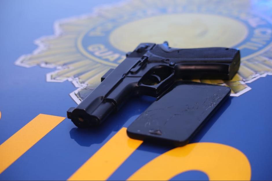 El agente de PNC con servicio en Villa Nueva, vendía armas a los pandilleros. (Foto ilustrativa/ archivo )