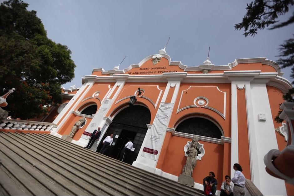 Un área del Museo Nacional de Antropología y Etnología se inundó con las recientes lluvias. (Foto: Ministerio de Cultura)