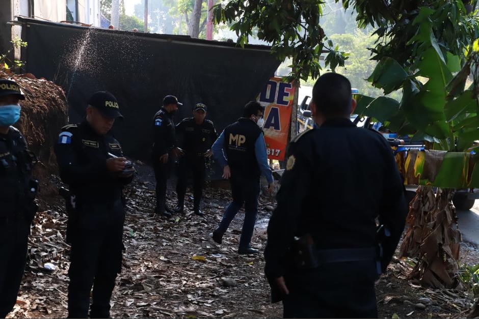 Entre los detenidos hay tres agentes de la PNC. (Foto: Ministerio Público)