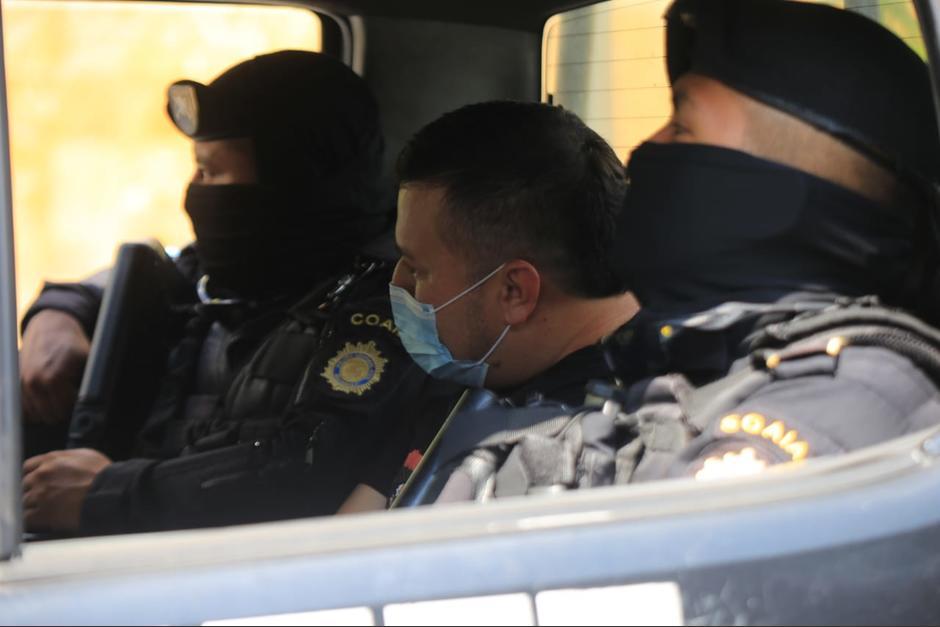 El detenido es señalado de transportar cocaína hacia Estados Unidos. (Foto: PNC)