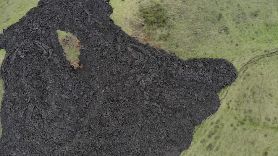 La lava da tregua a El Patrocinio y El Rodeo.  (Foto: Wilder López/Soy502)