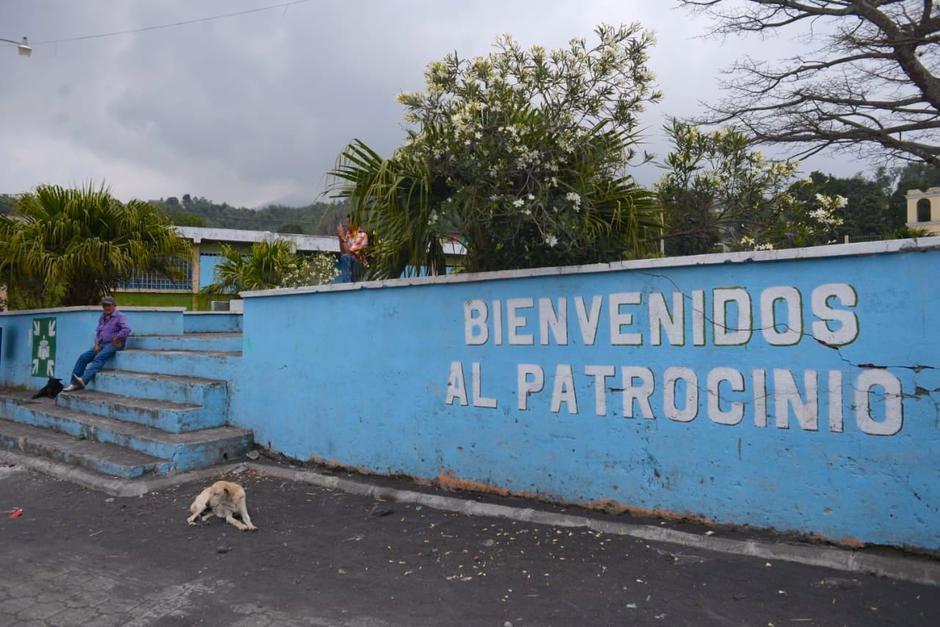 El Patrocinio vivió semanas de incertidumbre por la actividad volcánica. (Foto: Wilder López/Soy502)