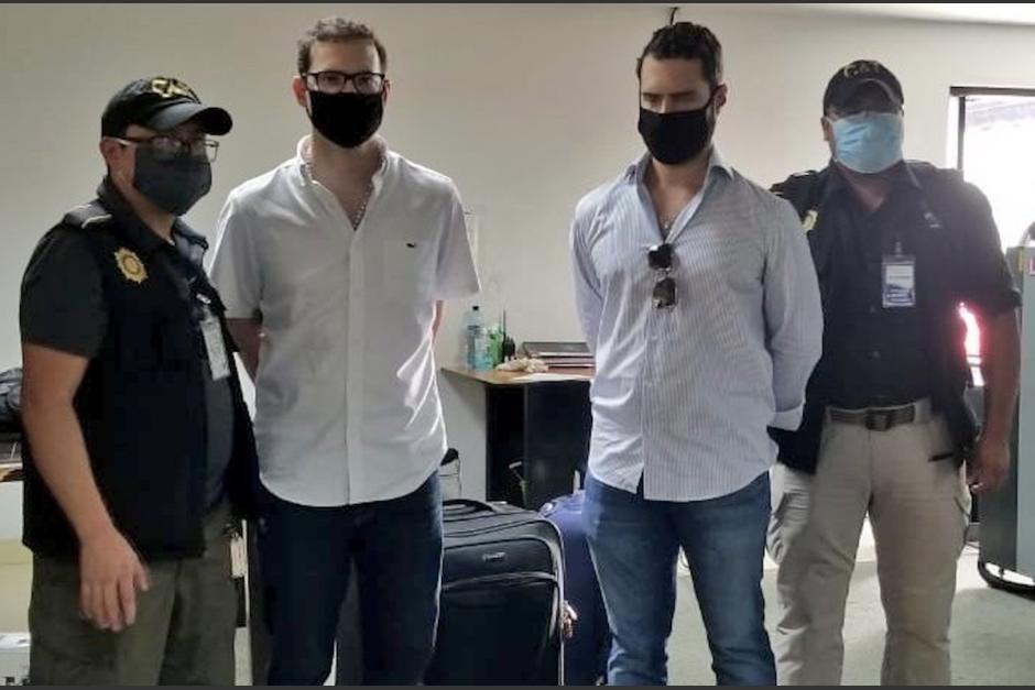 Los hermanos Martinelli se encuentran en la cárcel Mariscal Zavala en Guatemala. (Foto: archivo)