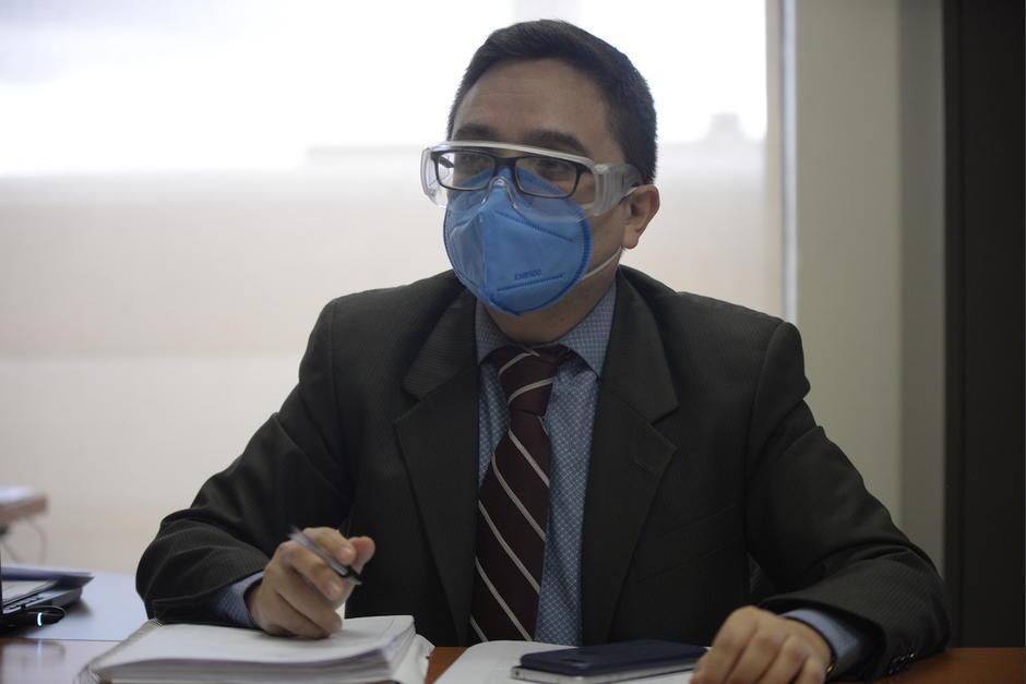 El exjefe de la FECI, Juan Francisco Sandoval, se encuentra en Estados Unidos y su mandataria lo representa en Guatemala. (Foto: archivo)