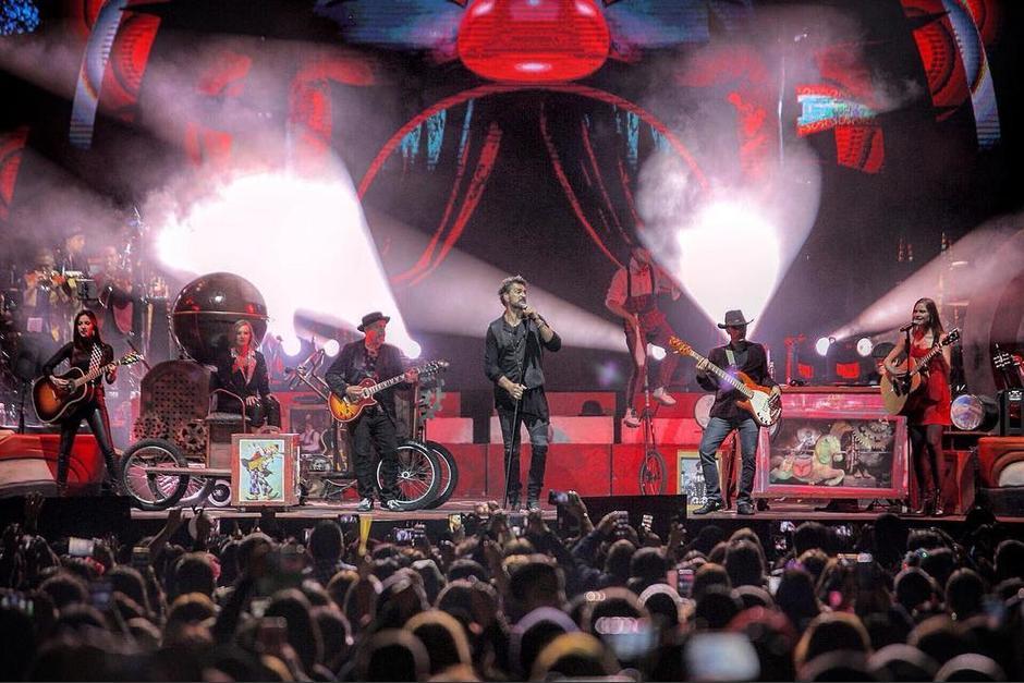 La gira Circo Soledad fue un rotundo éxito para el cantautor guatemalteco. (Foto: Ricardo Arjona)