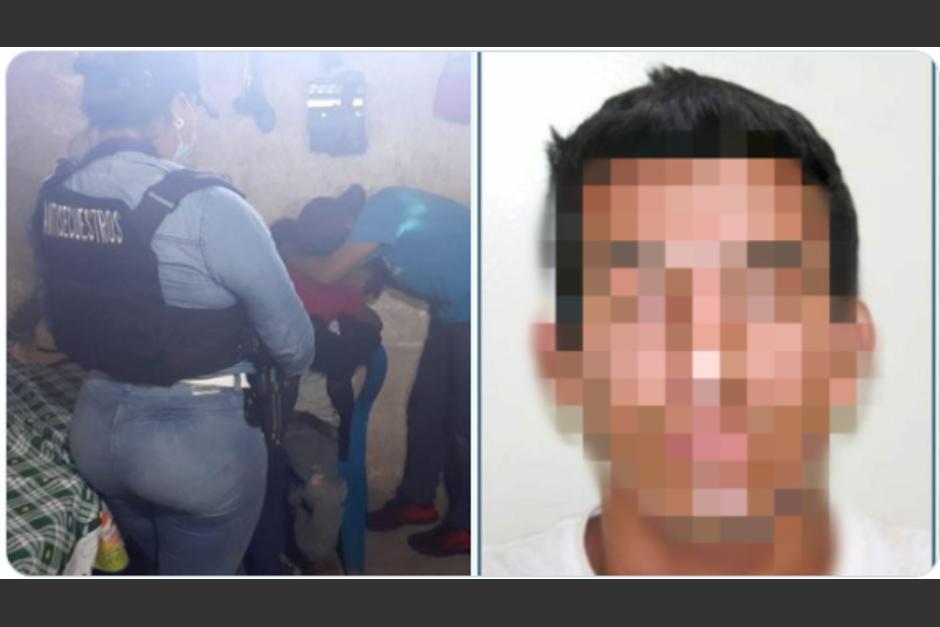 El secuestrador tenía 30 años. (Foto: PNC)