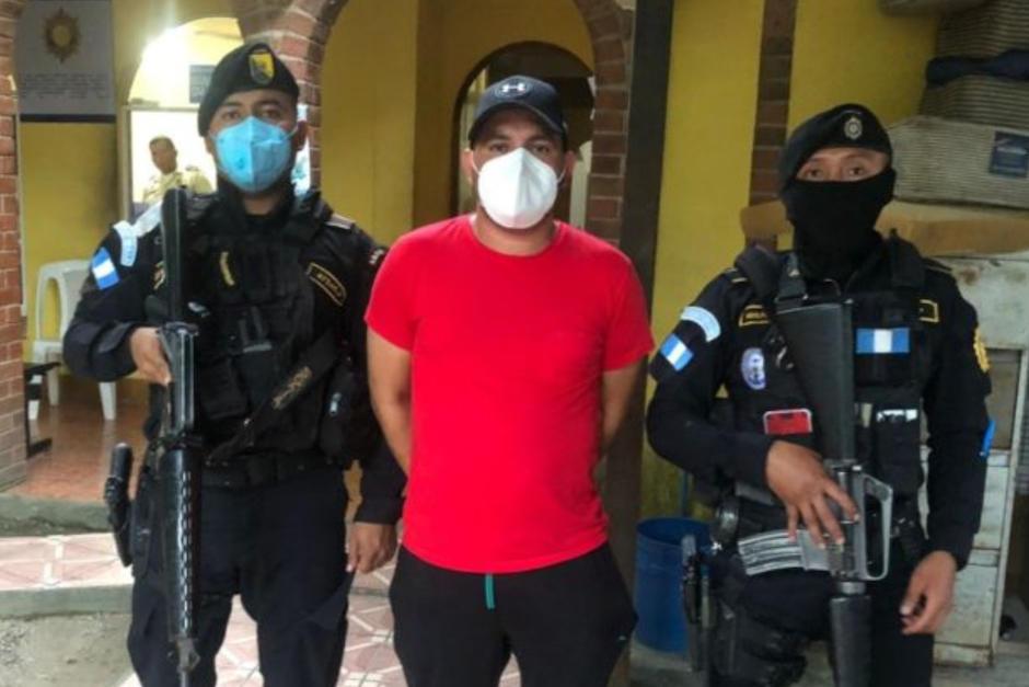 Daniel Valdéz Leiva es requerido por la justicia de los Estados Unidos. (Foto: Policía nacional Civil)