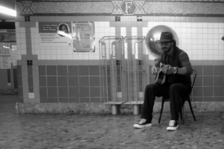Ricardo Arjona interpretó algunos temas en una estación de metro de Nueva York. (Foto: Ricardo Arjona oficial)