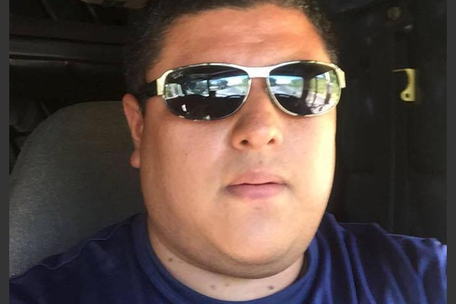 Augusto Andrino Chiltepe, hijo de la alcaldesa de La Democracia, Dora Aldina Pérez, fue captado amenazando a un conductor de tráiler. (Foto: Facebook/Augusto Andrino)