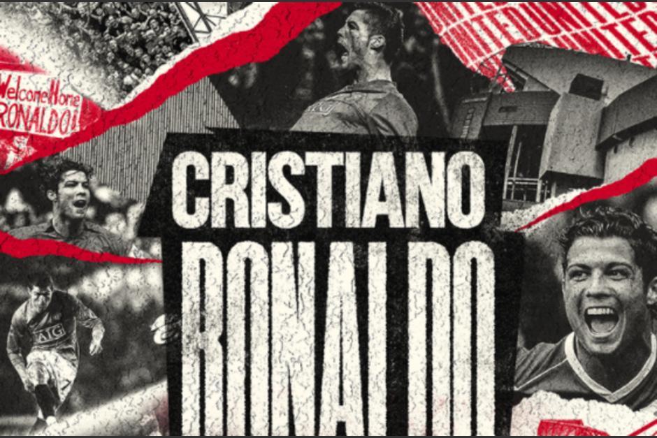 Totalmente confirmado Cristiano Ronaldo al Manchester United. (Foto: Twitter)
