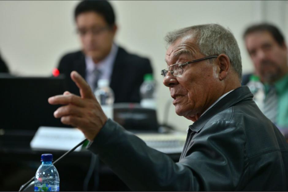 Manuel Benedicto Lucas García enfrentará un segundo juicio. (Foto: archivo)