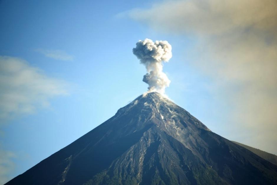 El volcán de Pacaya presentó incremento de actividad el 1 de enero de 2021. (Foto con fines ilustrativos/ AFP)