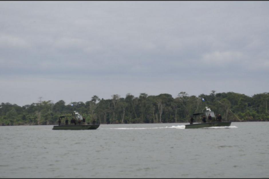 """Un grupo del Ejército de Guatemala es acusado de """"incursionar de manera ilegal"""" a aguas de Belice. (Foto: Archivo/Soy502)"""