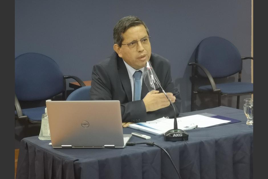 Marco Livio Díaz fue nombrado como titular de SAT en abril del año pasado. (Foto: Archivo/Soy502)