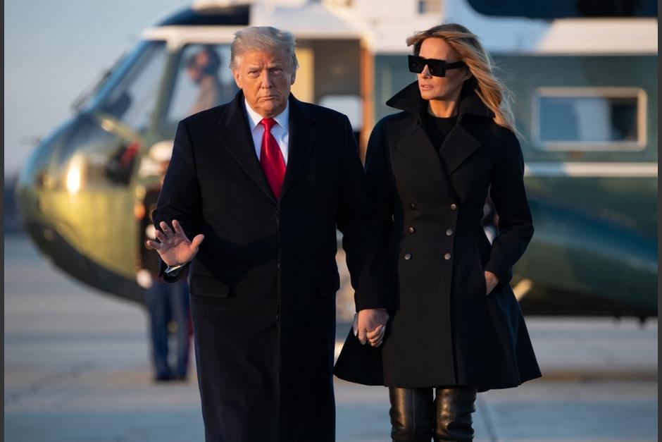 La esposa del presidente de Estados Unidos se refirió finalmente al conflicto. (Foto: AFP)