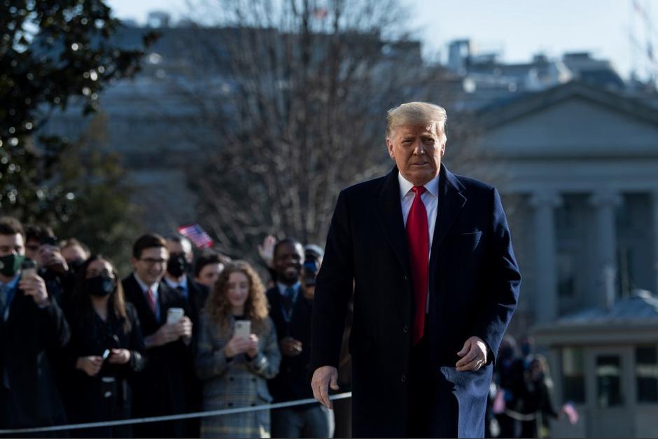 Luego de los disturbios en el Capitolio varias plataformas vetaron al presidente Trump.