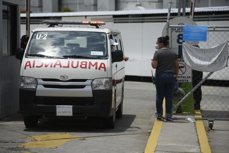 Una terapeuta denunció que las autoridades del hospital del Parque de la Industria negó atención a su padre. (Foto: Archivo/Soy502)