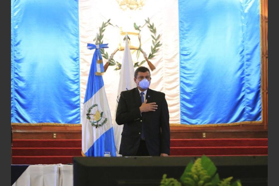 Guillermo Castillo presentó por separado los logros de la Vicepresidencia, a través de un informe publicado en la página de esa instancia. (Foto: Archivo/Soy502)