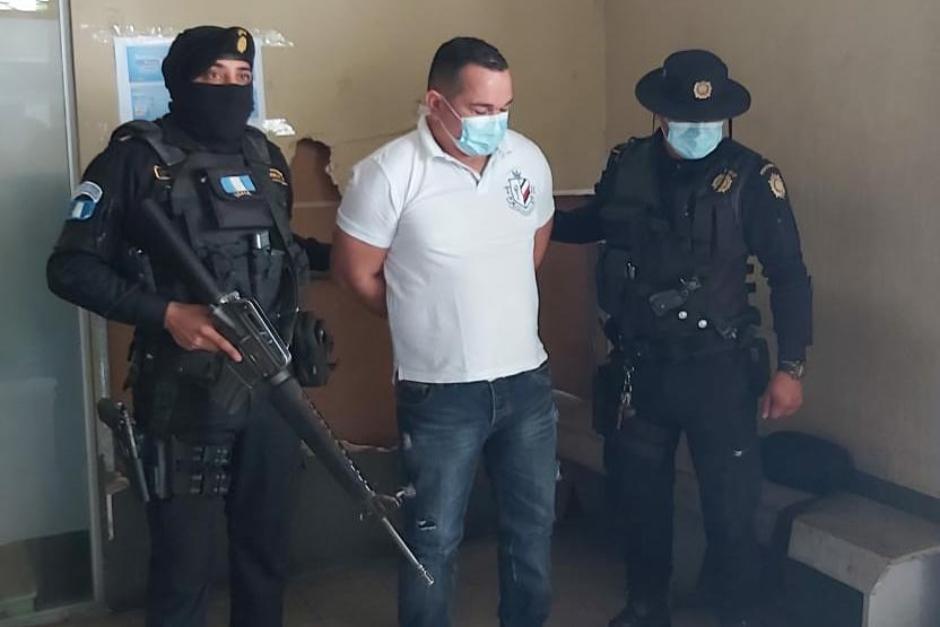 El Ministerio Público dio a conocer que el guatemalteco es requerido por tener vínculos con el narcotráfico.(Foto: PNC)