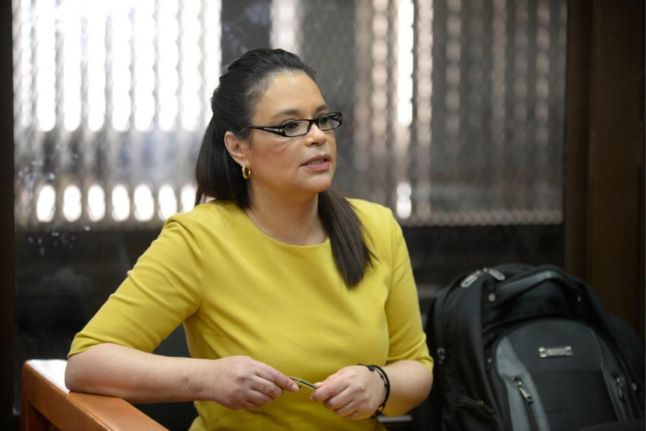 La exvicepresidenta Roxana Baldetti permanece en prisión preventiva. (Foto: archivo/Soy502)