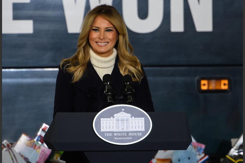 La aún Primera Dama de Estados Unidos hizo un llamado a la unidad de la nación. (Foto: AFP)