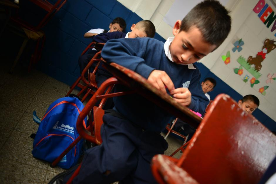 El primer módulo educativo del ciclo escolar tendrá un instrumento de evaluación diagnóstica (Foto ilustrativa: Archivo/Soy502)