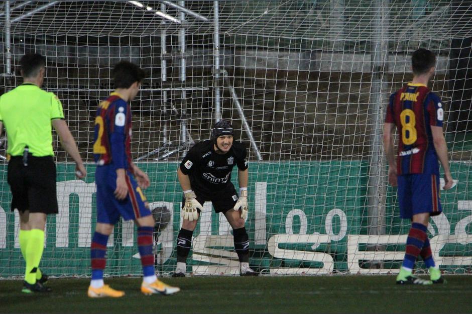 Koeman se muestra molesto tras los penales fallados — Barcelona