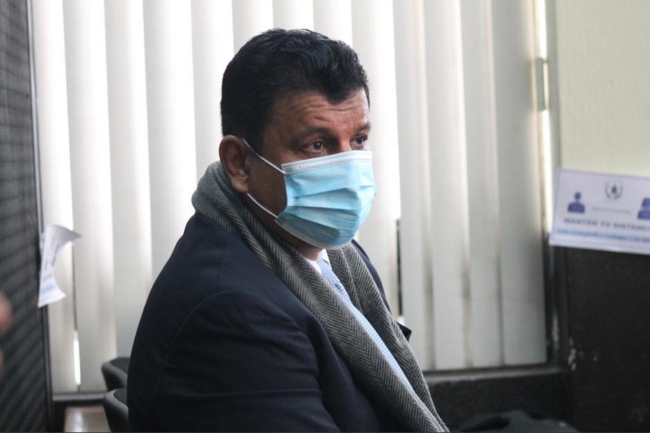 Estuardo Galdámez enfrenta proceso penal por tráfico de influencias. (Foto: Archivo/Soy502)